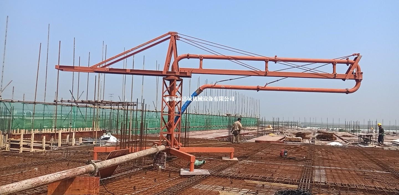 椒江滨海开发区,混凝土布料机
